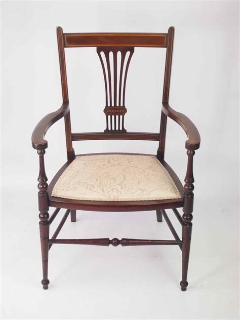 small armchair for bedroom small edwardian open armchair bedroom chair