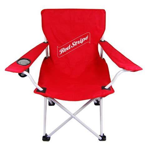 stripe logo folding c chair with bag