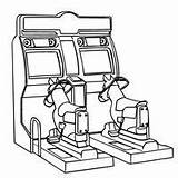 Coloring Pages Games Arcade Machine Claw Toy Printable Template Fun Way Toys sketch template