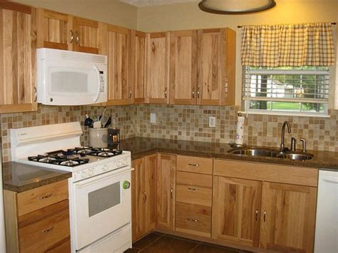 white kitchen cabinets choose right backsplash for hickory cabinets with 3610