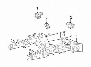 Ford Expedition Transmission Crossmember  4 2 Liter  4wd