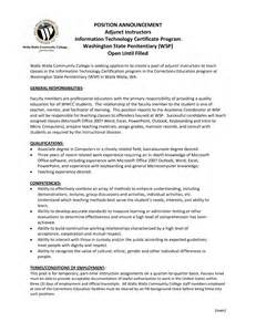 resume sle template 2015 resume adjunct professor resume sales professor lewesmr