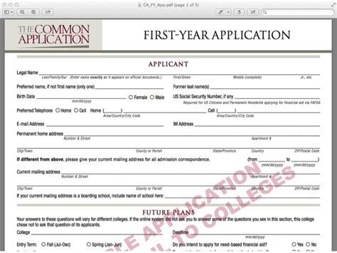 13249 college application template sle college applications template business