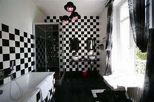 carrelage damier noir et blanc salle de bain inspirations With carrelage damier noir et blanc salle de bain