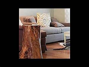 Deko Aus Baumstämmen : deko und m bel aus baumstamm selber machen 15 schnelle bastelideen ~ Frokenaadalensverden.com Haus und Dekorationen