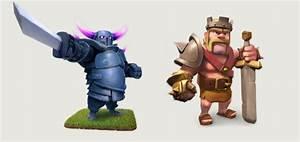 PEKKA vs Barbarian King Clash of Clans http://clashcrunch ...