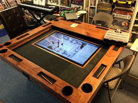 build  gaming table     cost   lcd tv