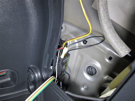 Rav4 Trailer Wiring Harnes by Curt Custom Fit Vehicle Wiring For Toyota Rav4 2011 C56165