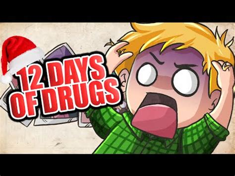 Pewdiepie Christmas Special! (12 Days Of Drugs) By Cypherden Youtube