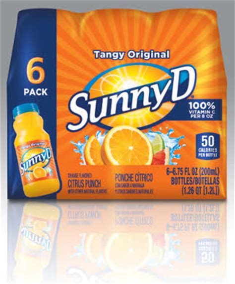 Sunny Delight cuts calories, vows to tout on FOP label ...