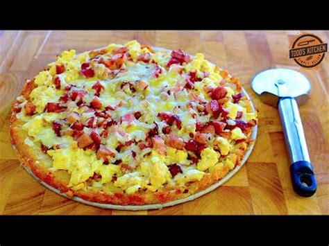 breakfast pizza recipe    video youtube