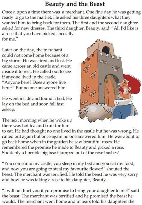 grade  reading lesson  fairy tales beauty