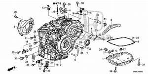 At Transmission Case  Cvt  For 2015 Honda Civic Sedan