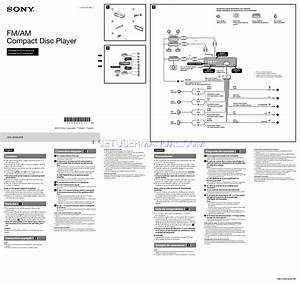 Sony Cdx Gt65uiw Wiring Diagram