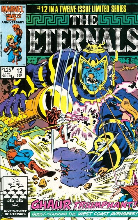 Amazon.com: Eternals, The (Ltd. Series) #12 FN ; Marvel ...