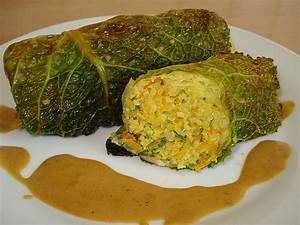 Bulgur Rezepte Vegetarisch : wirsingroulade mit bulgur rezept mit bild von ellmi1505 ~ Lizthompson.info Haus und Dekorationen