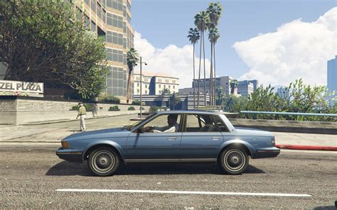 1986 Buick Century by 1986 Buick Century Limited Add On Replace Gta5 Mods