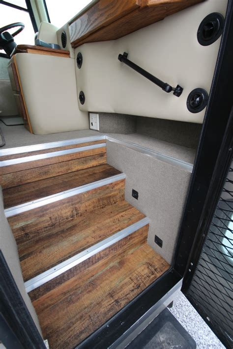 rv coach motorhome retrofits flooring