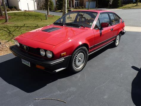 Alfa Romeo 1986 by 1986 Alfa Romeo Gtv6 Classic Italian Cars For Sale