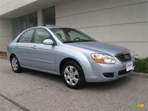 2008 Ice Blue Kia Spectra Ex Sedan #18167333
