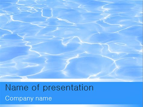 templates powerpoint gratis download free water powerpoint template for your presentation