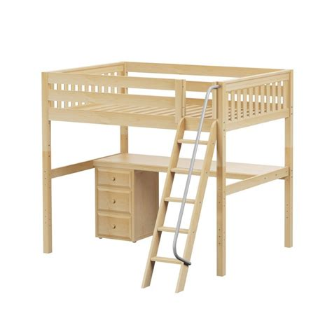 ladder desk with drawer maxtrixkids giant2 ns high loft w angle ladder long
