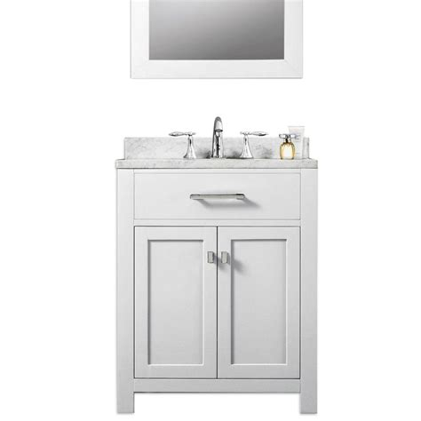 water creation madison  solid white traditional single