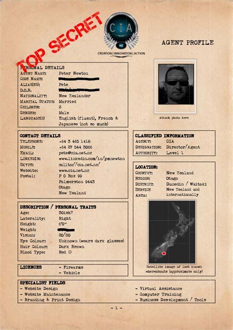 cia agent profile peter newton