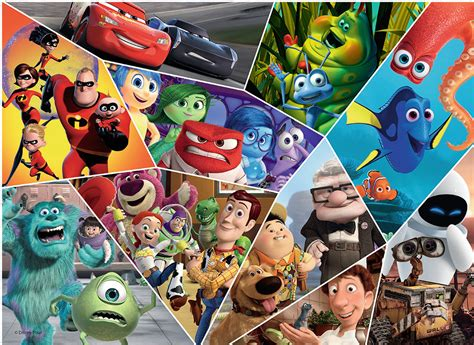 ultimate pixar childrens puzzles jigsaw puzzles