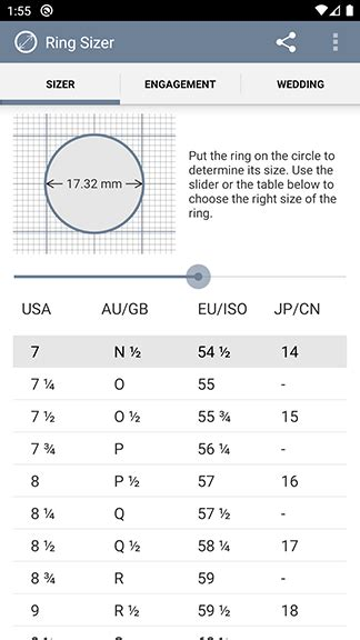 ring sizer  jason withers mobile app  iphone