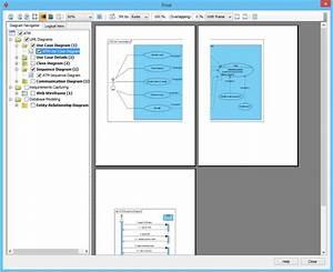 Printing Diagrams In Visual Paradigm