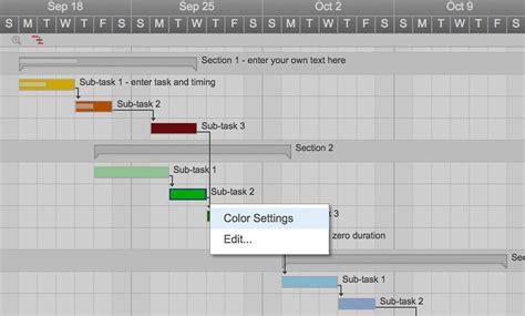 gantt chart template excel   spreadshee