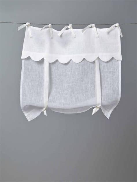 rideaux brise bise voilage rideau en lin cyrillus