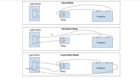 Alexa Fireplace Switch Wiring Diagram Companion Video