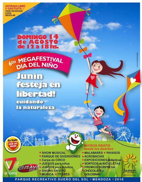 afiche dia cesino jun 205 n celebra un nuevo megafestival d 205 a ni 209 o