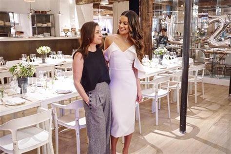 Lea Michele Usa Vestido De R$ 4,3 Mil Em Chá De Cozinha