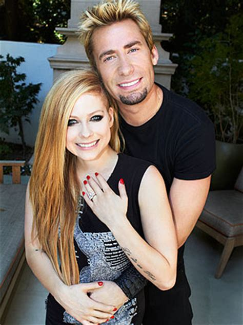 verragio engagement rings avril lavigne chad kroeger show engagement ring