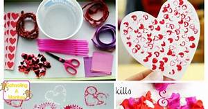 Adorable and Sweet Valentine's Day Fine Motor Activities