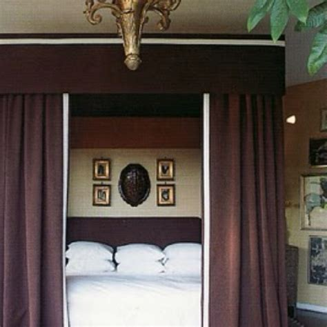 bed canopy  blackout option room ideas