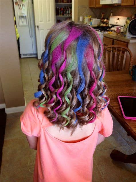 Chalking Kids Hair Fashion Fabulous Hair Pinterest