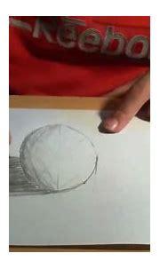 Drawing anamorphic 3D spheres like sidewalk 3d art ...