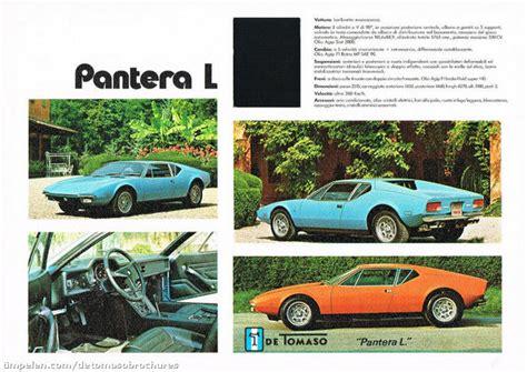 Scans of De Tomaso Pantera, Pantera GTS, Pantera Gr. 3 ...