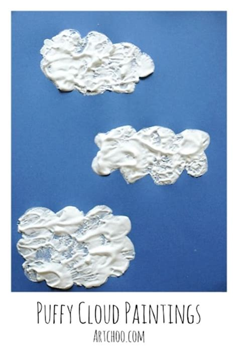 clouds science for 23 smart ideas for the classroom 240 | Clouds for Kids 22 Smart Ideas Puffy Shaving Cream Clouds Teach Junkie