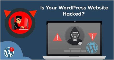 wordpress website hacked  ways  detect