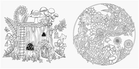 heidi anne heiners blog art thursday enchanted forest  inky quest coloring book april