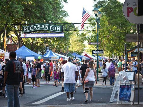 Of Pleasanton by 1st Wednesday Return To Downtown Pleasanton