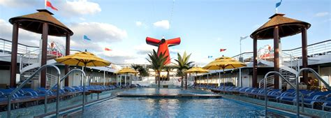 pools take a dip in the onboard pools carnival cruise line