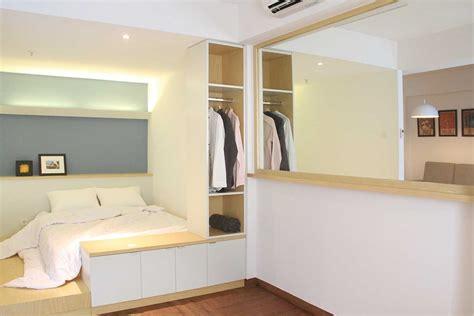 jasa desain interior kamar tidur minimalis modern