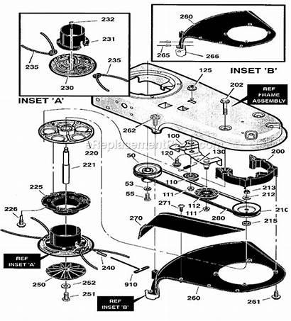Parts Brush Craftsman Mower Dr Trimmer Wheel
