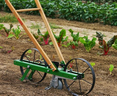 garden seed planter garden seeder hoss tools makes planting easy usa made